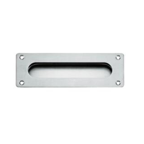 Stainless Steel Elliptic Concealed Handle For Sliding Door FH-028